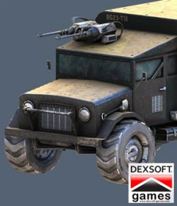 Armored Truck- Extended License