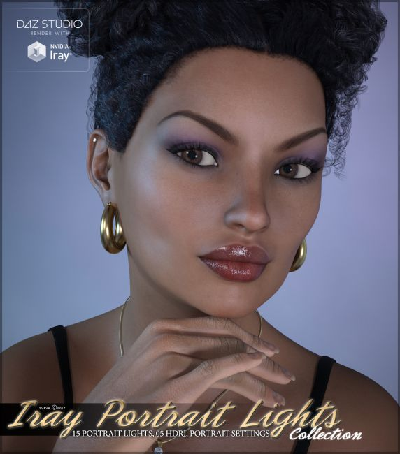 Iray Portrait Lights Collection