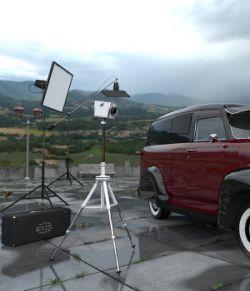 Movie Sets, Car Patio