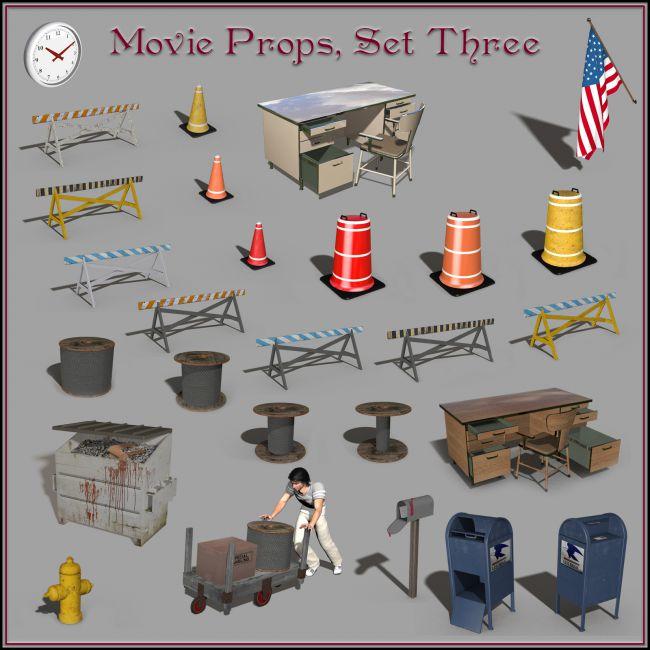 Movie Props, Set 03