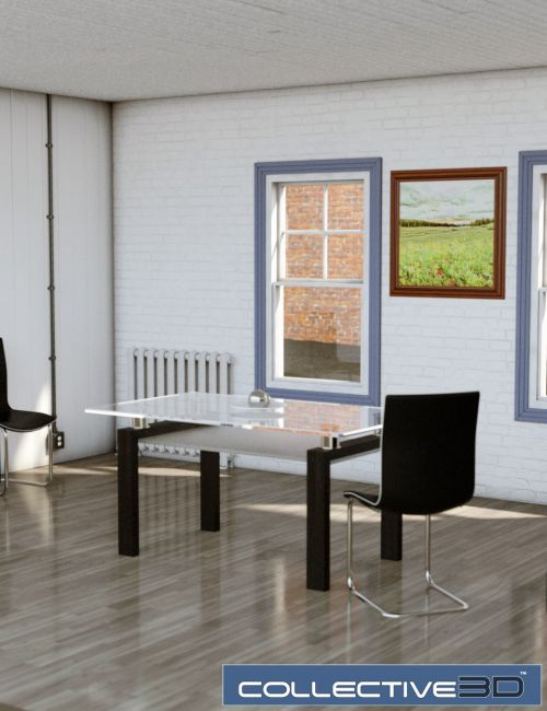 Collective3d Movie Sets Study Room