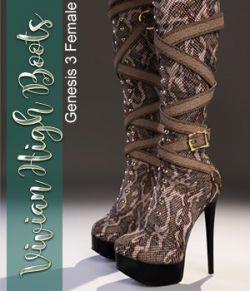 Vivian High Boots - G3F