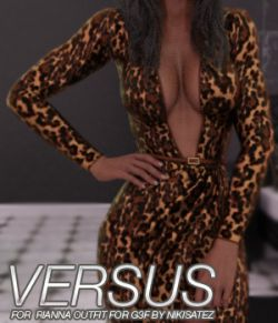 VERSUS- Rianna Outfit for Genesis 3 Female(s)