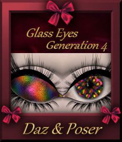 Mini Pack : Glass Eyes for Generation 4