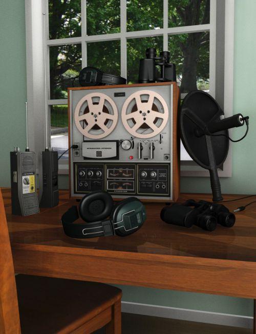 Retro Surveillance Equipment