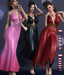 Party Time for Drusilla Dress & Jewels