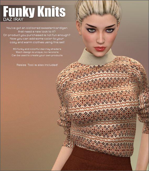 Daz Iray - Funky Knits