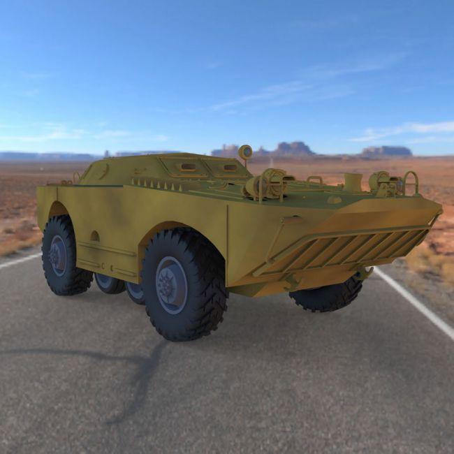 BRDM 1 (for Poser)