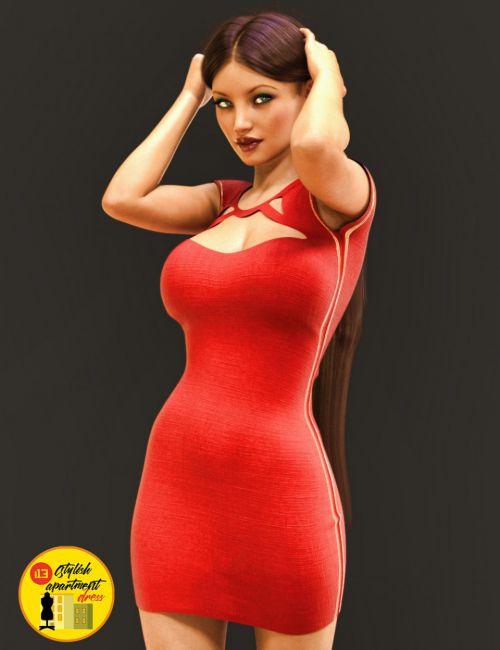i13 Stylish Dress for Genesis 3 Female(s)