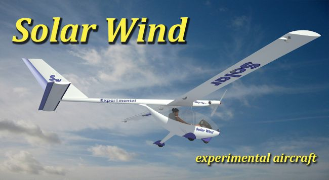 Solar Wind experimental aircraft