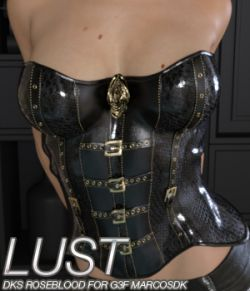 LUST - DKS RoseBlood for Genesis 3 Female