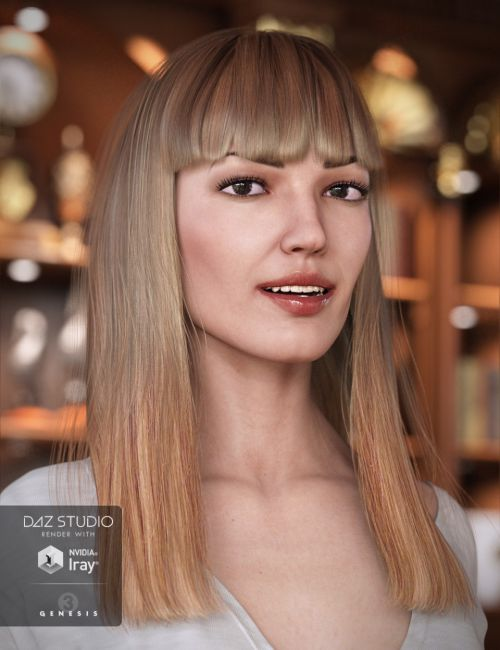 Avelyn Hair for Genesis 3 Female(s)