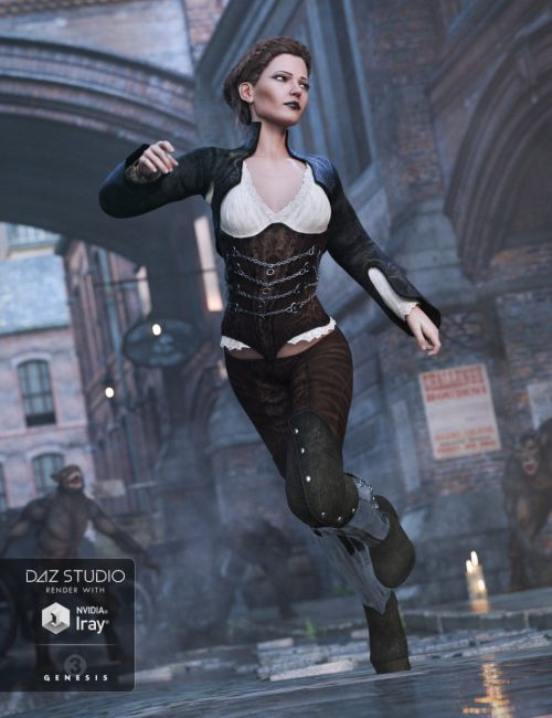 Vanessa Marquise Outfit for Genesis 3 Female(s)