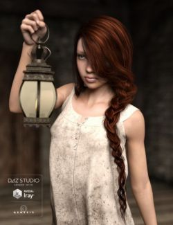Careless Braid for Genesis 3 Female(s)