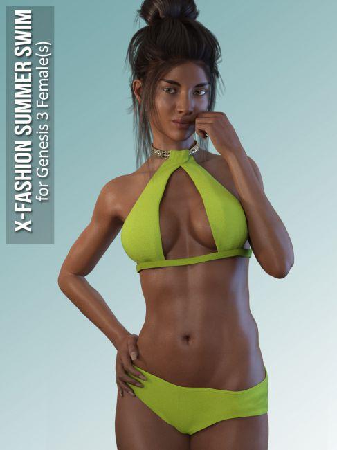 Summer Swim for Genesis 3 Females