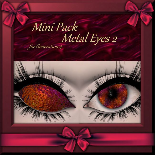 Mini Pack : Metal Eyes 2 for Generation 4