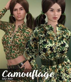 DAZ Iray- Camouflage