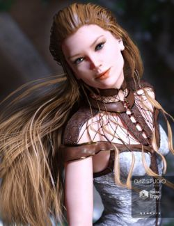 The NightQueen Hair for Genesis 3 Female(s)