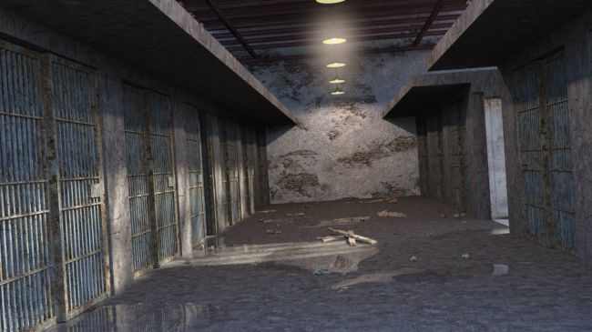 Haunted Prison Cell 3d Models For Poser And Daz Studio