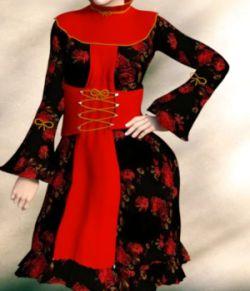 Pierra la Mer Dress for G3F