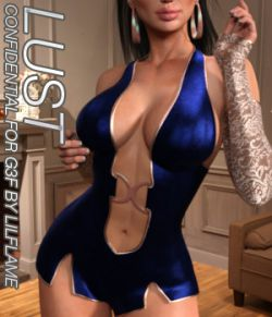LUST - Confidential for Genesis 3 Females