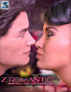 Z Romantic- Dialable & One-Click Expressions for Genesis 3 Male(s) & Female(s)