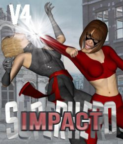 SuperHero Impact for V4 Volume 1