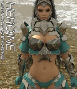 HEROINE for Zhaetheria Legend - IRAY EXPANSION