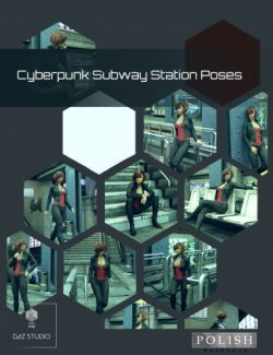 Cyberpunk Subway Station Poses