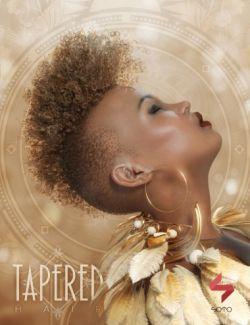 Tapered Hair for Genesis, Genesis 2, and Genesis 3