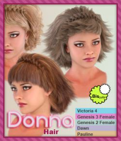 Biscuits Donna Hair