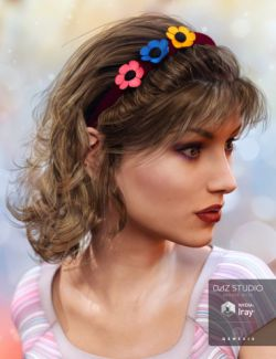 Girly Locks Hair for Genesis 3 Female(s)
