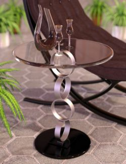 Glass Table Collection for Iray