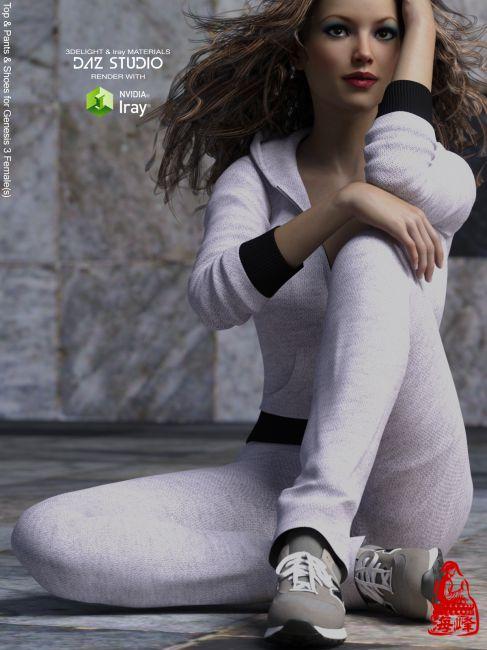 Sport Suit for Genesis 3 Females