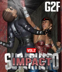 SuperHero Impact for G2F Volume 2