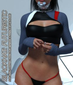 BLACKHAT:FUTURISTIC- Small Distraction for Genesis 3 Females