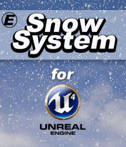 Snow System for UE4- Extended License