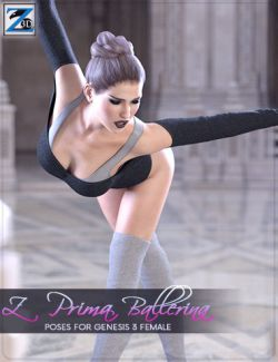 Z Prima Ballerina- Poses for Genesis 3 Female
