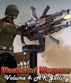 Wasteland Weapons: AK- Gatling