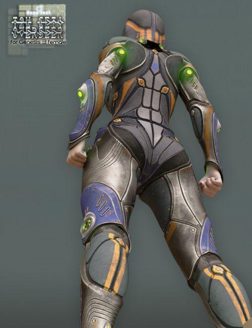Tau Ceti Overseer - Sci-fi Armor for Genesis 3 Female(s)