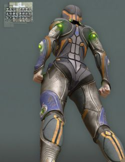 Tau Ceti Overseer- Sci-fi Armor for Genesis 3 Female(s)