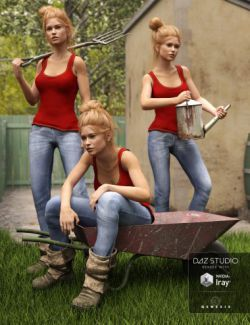 In the Garden Poses for Genesis 3 Female(s)
