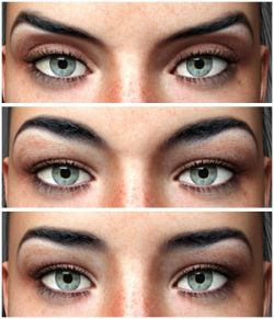 Eyes & Eyebrows Morphs for G3F Vol2