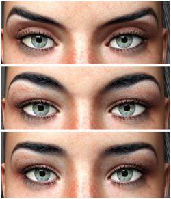 Eyes & Eyebrows Morphs for G3F Vol2