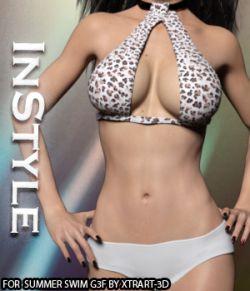 InStyle- Summer Swim for Genesis 3 Females