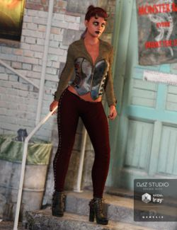Wicked Ways Outfit for Genesis 3 Female(s)