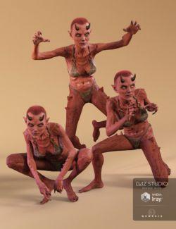 DA Anneka Demon Pose Set