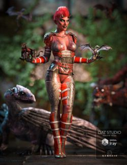 Dragon Rider Outfit for Genesis 3 Female(s)