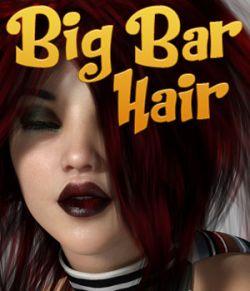 Big Bar Hair for Genesis 3 Female
