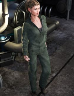 Work Clothes for Genesis 3 Female(s)